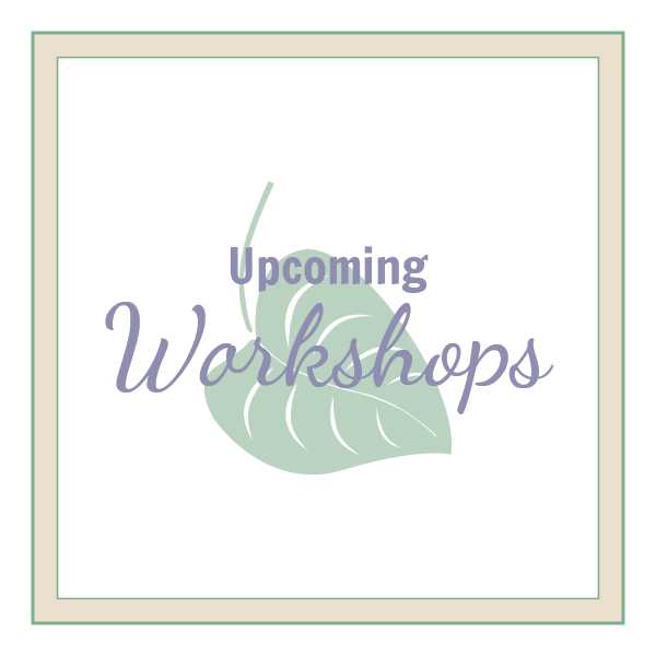 Upcoming Workshops