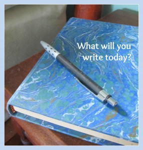 What will you write today?