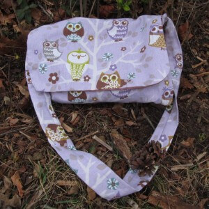 Handmade collecting bag